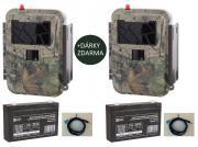 2x Fotopast UOVision UM 595 3G
